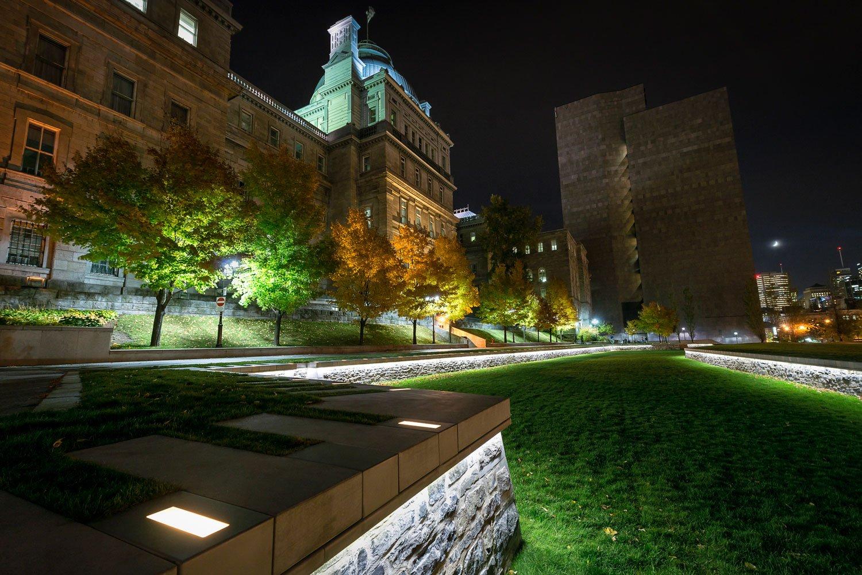 Champ-de-Mars : Restauration et mise en valeur des fortifications de Montréal