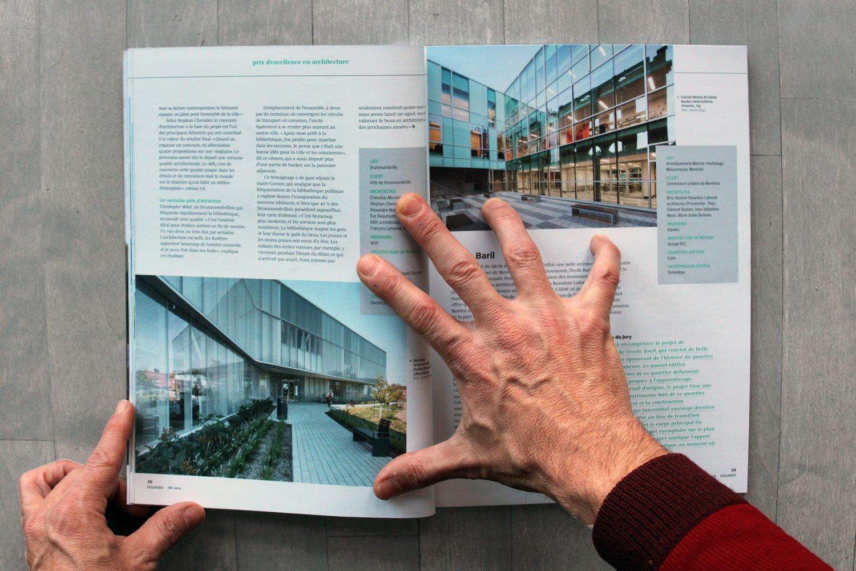Esquisses - Bibliothèque Drummondville