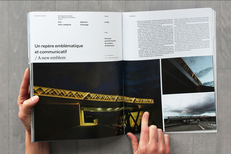 Grands Prix du Design - Pont ferroviaire du Campus MIL