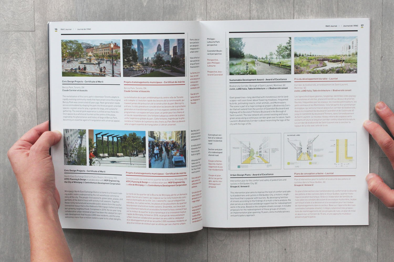 Corridor de biodiversité - Canadian Architect - Prix nationaux de design urbain